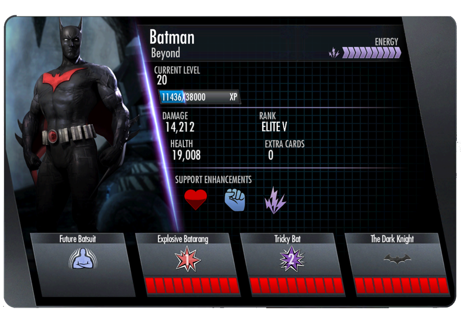 iOS/Android Injustice: Ranking the Gold Cards (#'s 26-31 ...