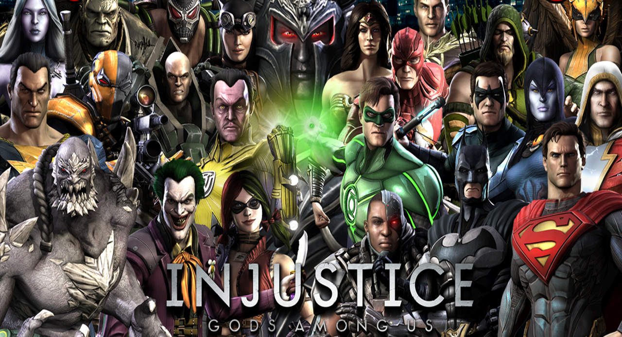 INJUSTICE GODS AMONG US YEAR 2 VARIANT COVER  DC COMICS