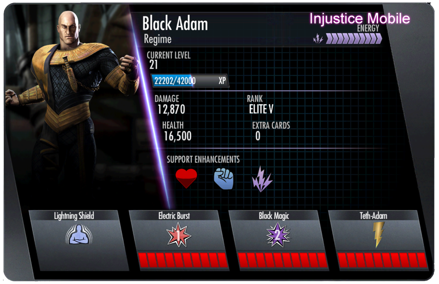 iOS/Android Injustice: Ranking the Gold Cards (#'s 16-20 ...