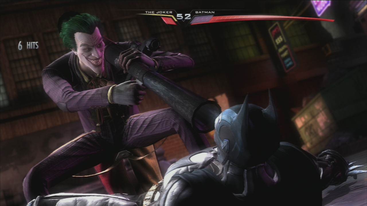 The Joker Injustice Insurgency nowgamer ins joker