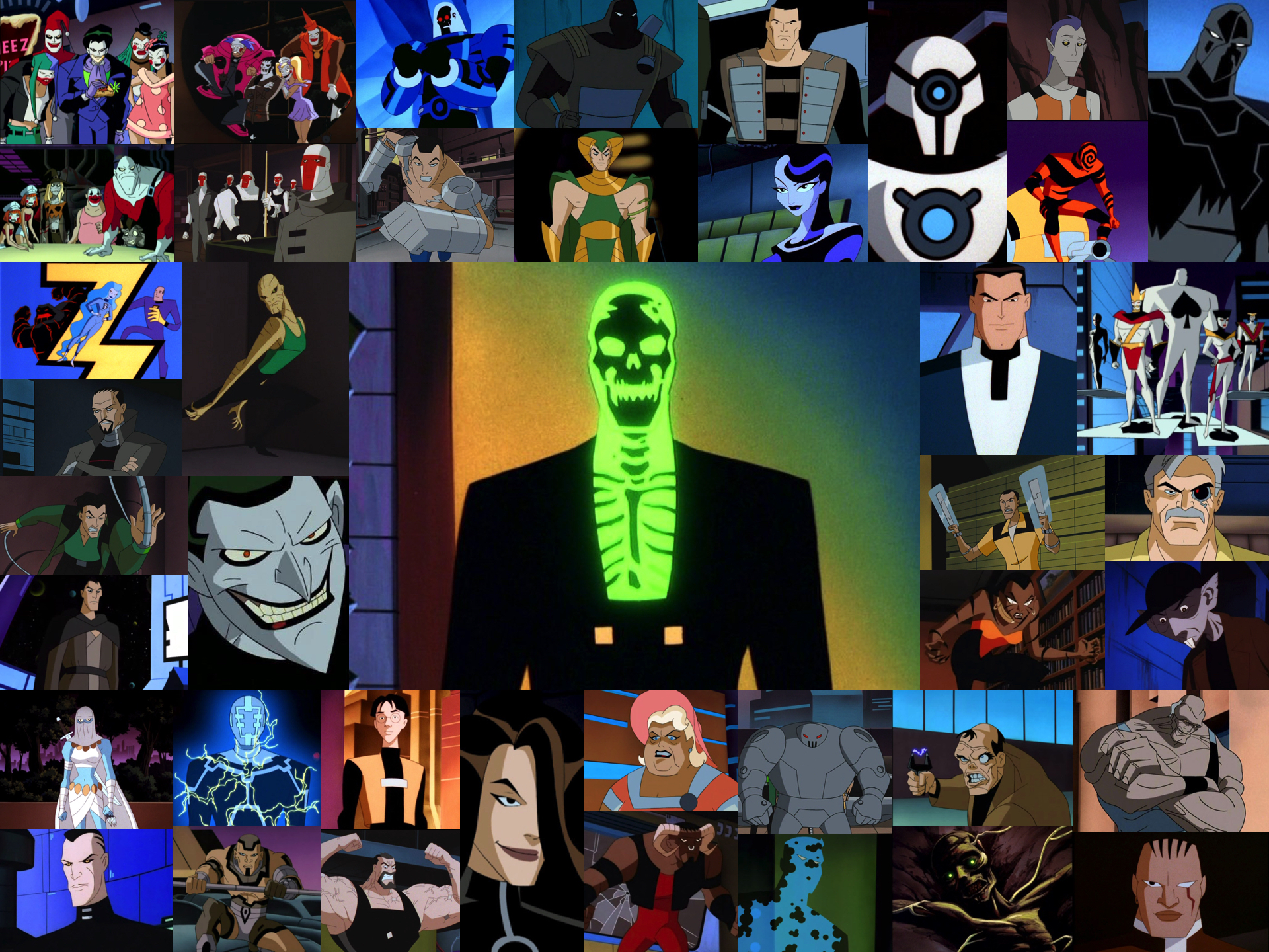 Batman Beyond Villains Throwback Thursday: Te...