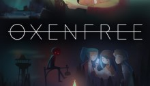 Oxenfree Key Art